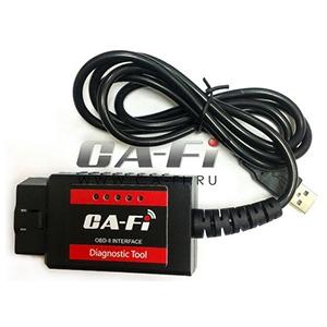 Диагностический адаптер USB OBD-II Ca-Fi